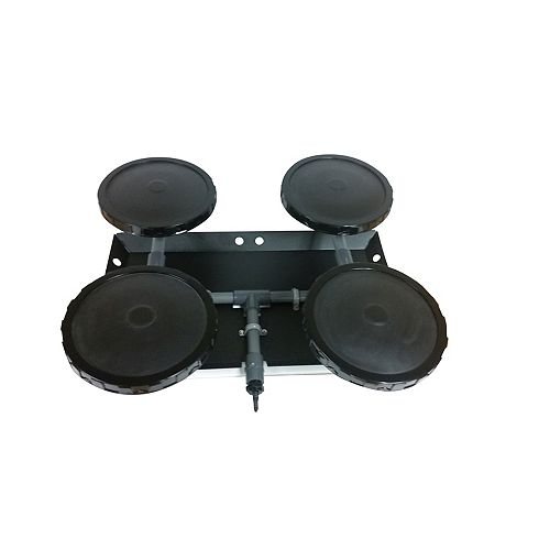 Four Disc 9 inch Optimal Air  Diffuser with Self-Sinking base