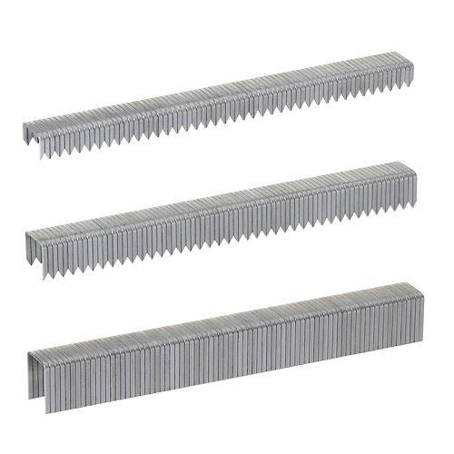 T50 1/4 inch x 3/8 inch x 1/2 inch Staple Multi-Pack - 1,875 ct