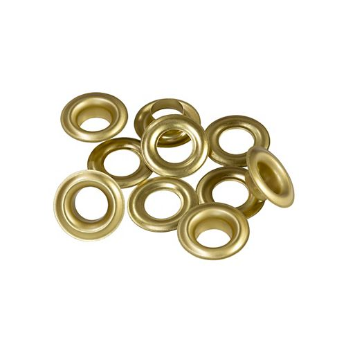 Arrow G1212 1/2 inch Grommet Refills - 12 Sets