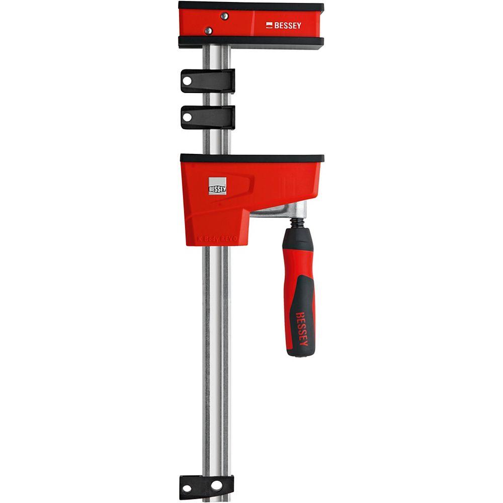 BESSEY BESSEY Pince parallèle Revo 24 po 1700 lb avec profondeur de gorge 3-3 / 4 po