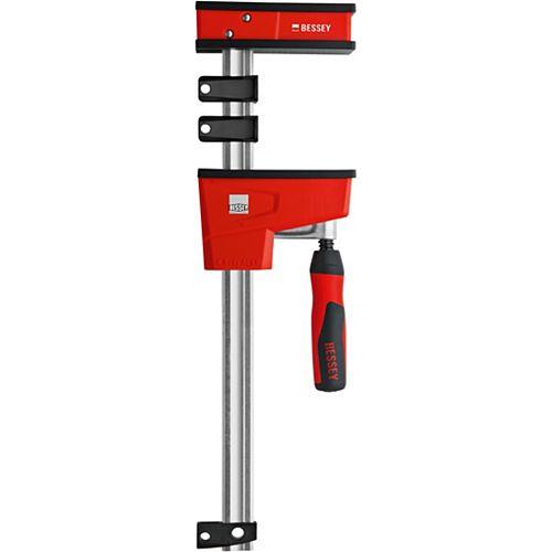 BESSEY Collier de serrage parallèle Revo de 50 po, 1700 lb avec gorge de 3-3 / 4 po de profondeur