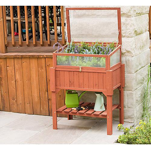 Raised Greenhouse