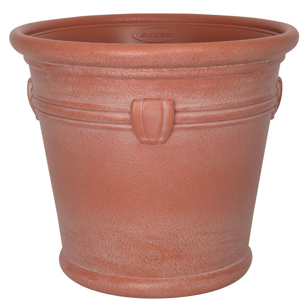 Suncast Jardinière Décorative Waterton, Terra Cotta