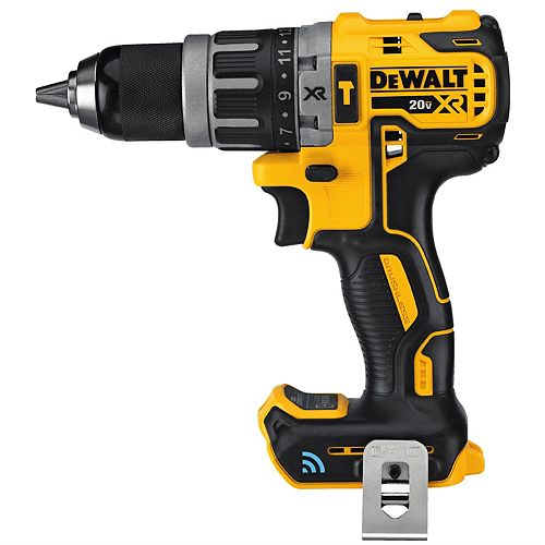 DEWALT 20V Max Lithium-Ion Cordless Compact 1/2-inch Hammer Drill with Tool Connect (Tool Only)