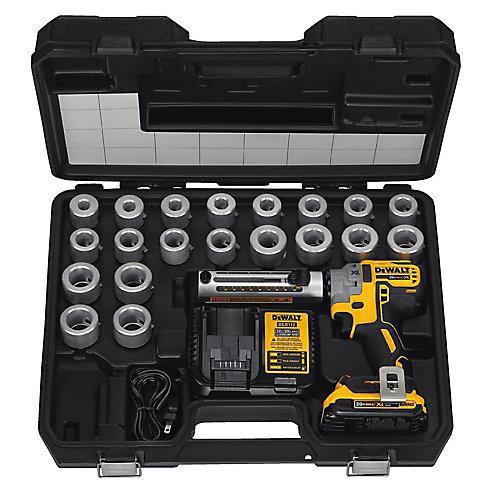 20V MAX XR Brushless Li-Ion Cordless Cable Stripper Kit w/ (1) 2 Ahr Battery, Charger and 20 Bushings