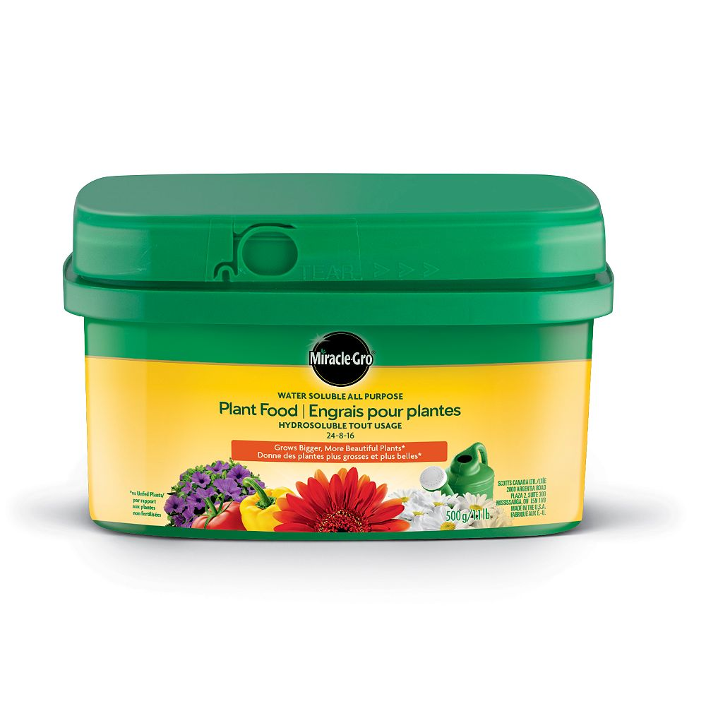 Miracle-Gro 500 g Water Soluble All Purpose Plant Food 24-8-16