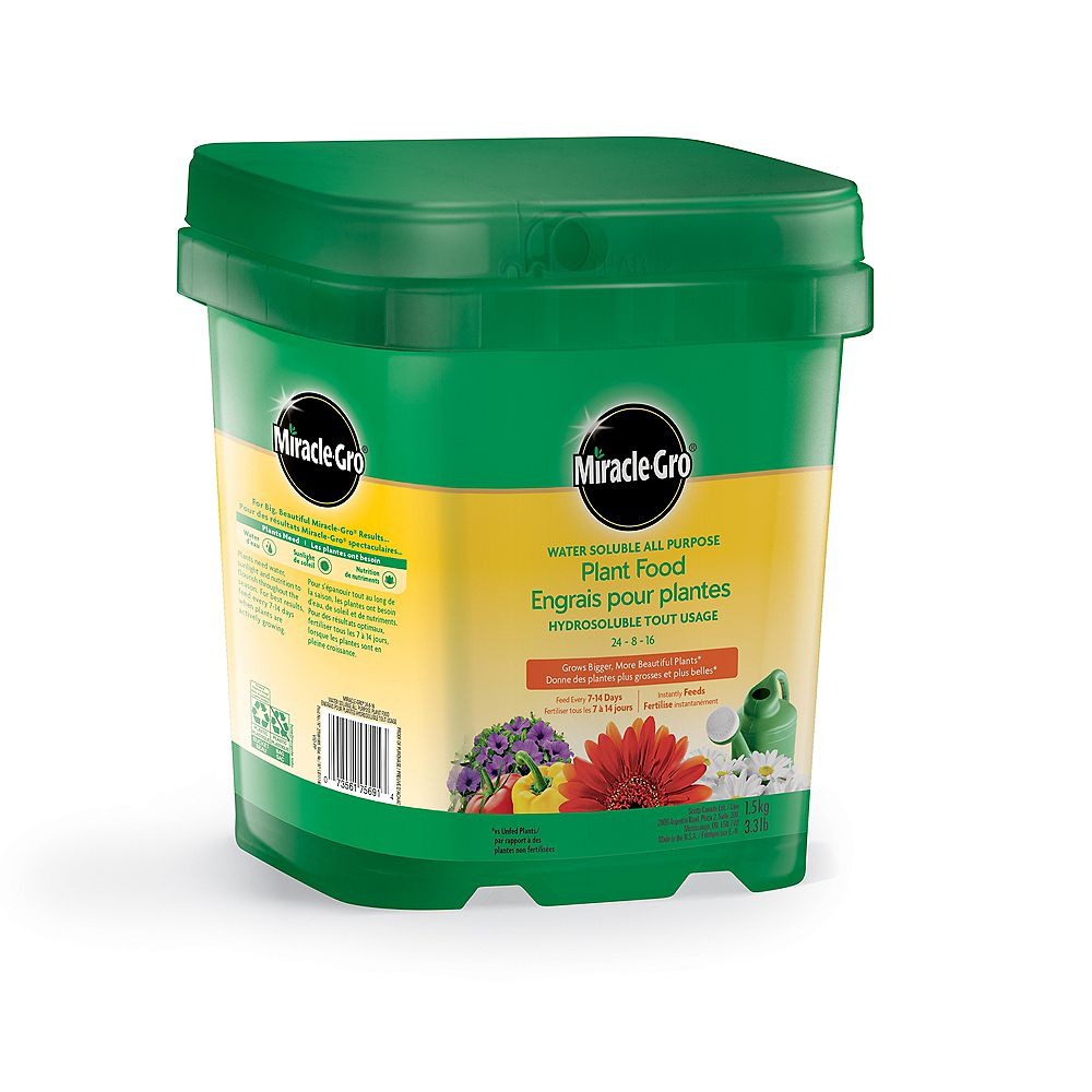 Miracle-Gro Water Soluble All Purpose Plant Food 24-8-16 1.5 kg