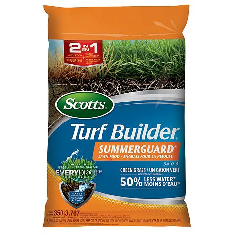 Scotts Turf Builder engrais pour la pelouse Summerguard 34-0-0
