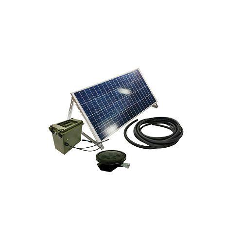 Aérateur Solar Small Pond 1 Système Direct Drive