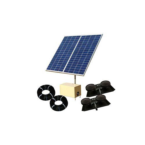 Solar Pond Aerator 3 AerMaster Direct Drive Aeration System