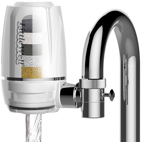 LittleWell Faucet Mount Water Filter with Multi-Layer Filtration
