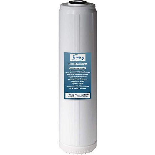 iSpring LittleWell plomb, grande cartouche de filtre à eau de rechange pour toute la maison