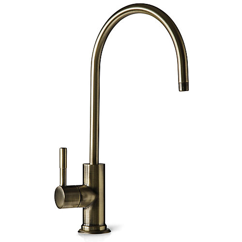 European Designer Drinking Water Faucet in Antique Brass
