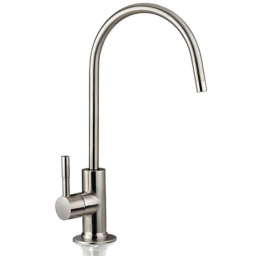 iSpring European Designer Drinking Water Faucet in Brushed Nickel