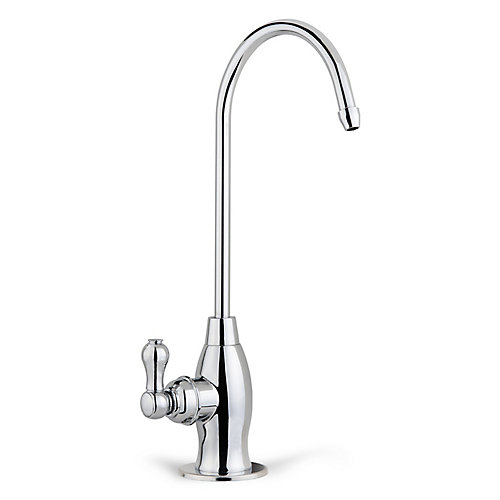 Drinking Water Coke Shaped High-Spout Faucet in Chrome