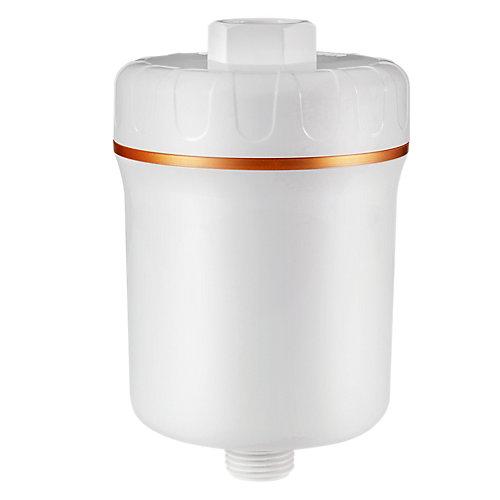 Filtre de douche élégant à 5 étapes, blanc, élimine t plus de 200 contaminants