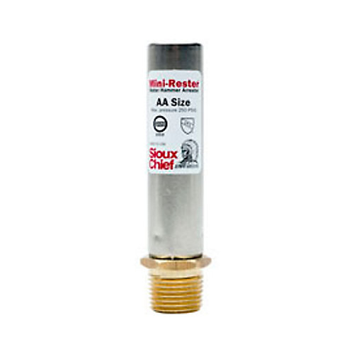 Water Hammer Arrester by :  1/2-inch MPT