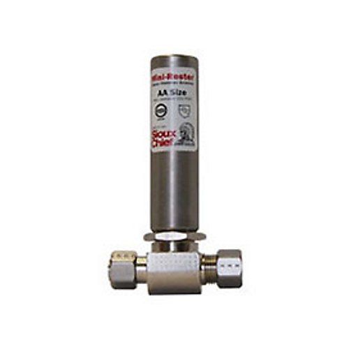 Mini Water Hammer Arrester Tee by : 3/8 po x 3/8 po