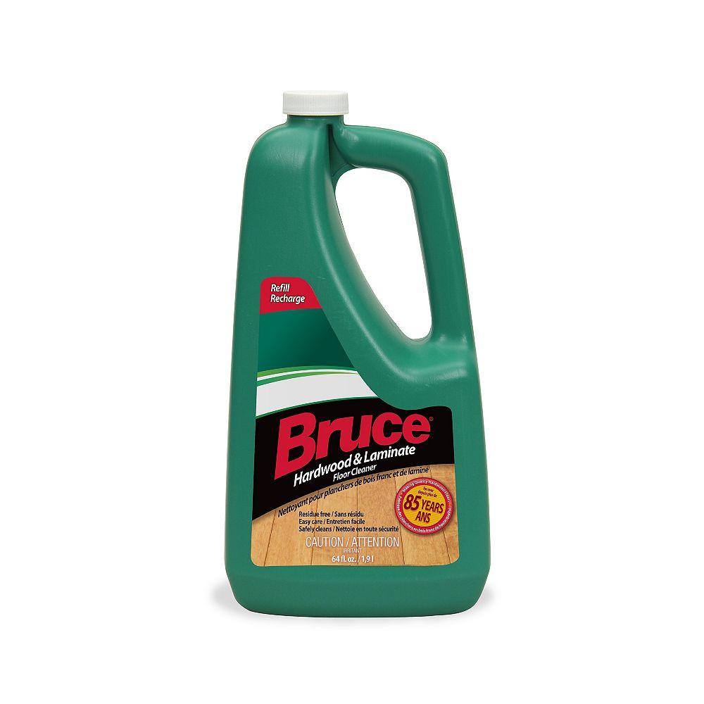 Bruce Hardwood and Laminate Floor Cleaner, 1.89 L Liquid Refill