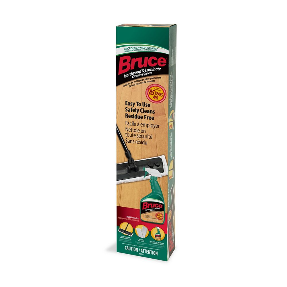 Bruce Floor Cleaning Kit For No Wax