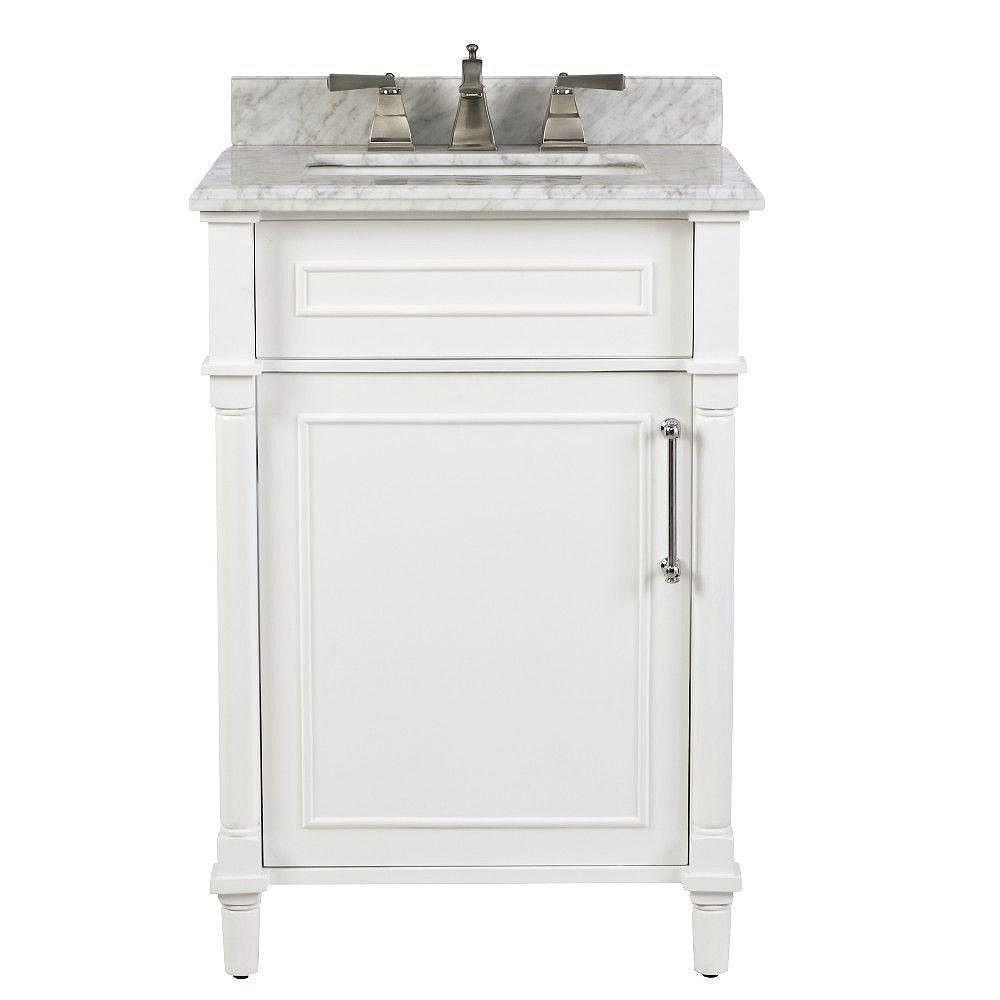 Home Decorators Collection Aberdeen 24, Home Depot Bathroom Vanities 24 Inch