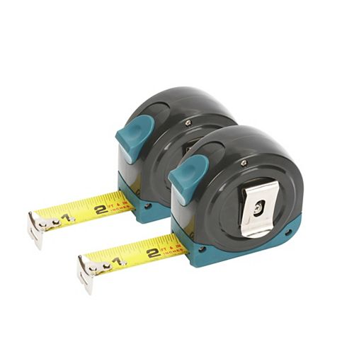 Anvil 2-Piece Tape Measure Set (25 ft. and 25 ft.)