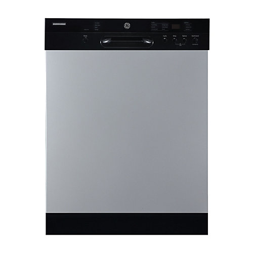 24-inch Front Control Built-In Dishwasher with Stainless Steel Tub in Stainless Steel