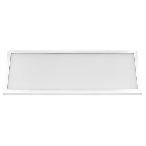 1 ft. x 4 ft. 50W Dimmable Integrated LED White Edge-Lit Flat Pnl Flushmnt with Color Change CCT