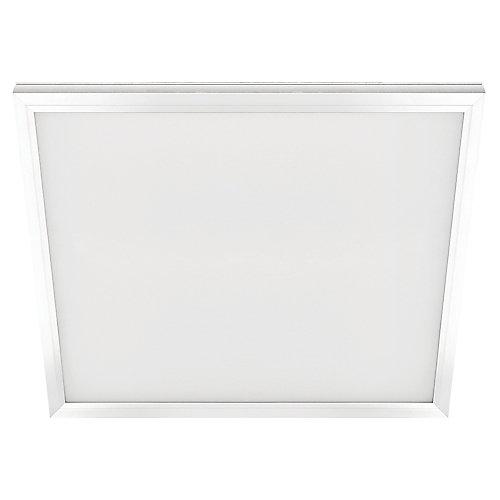 Pann plat blc 2pi x 2pi brd éclairé DEL intégré 47W Troffer/encastré grille T couleur changeante CCT