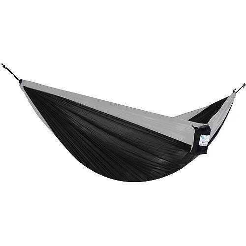 Parachute Hammock - Double (Black/Grey)