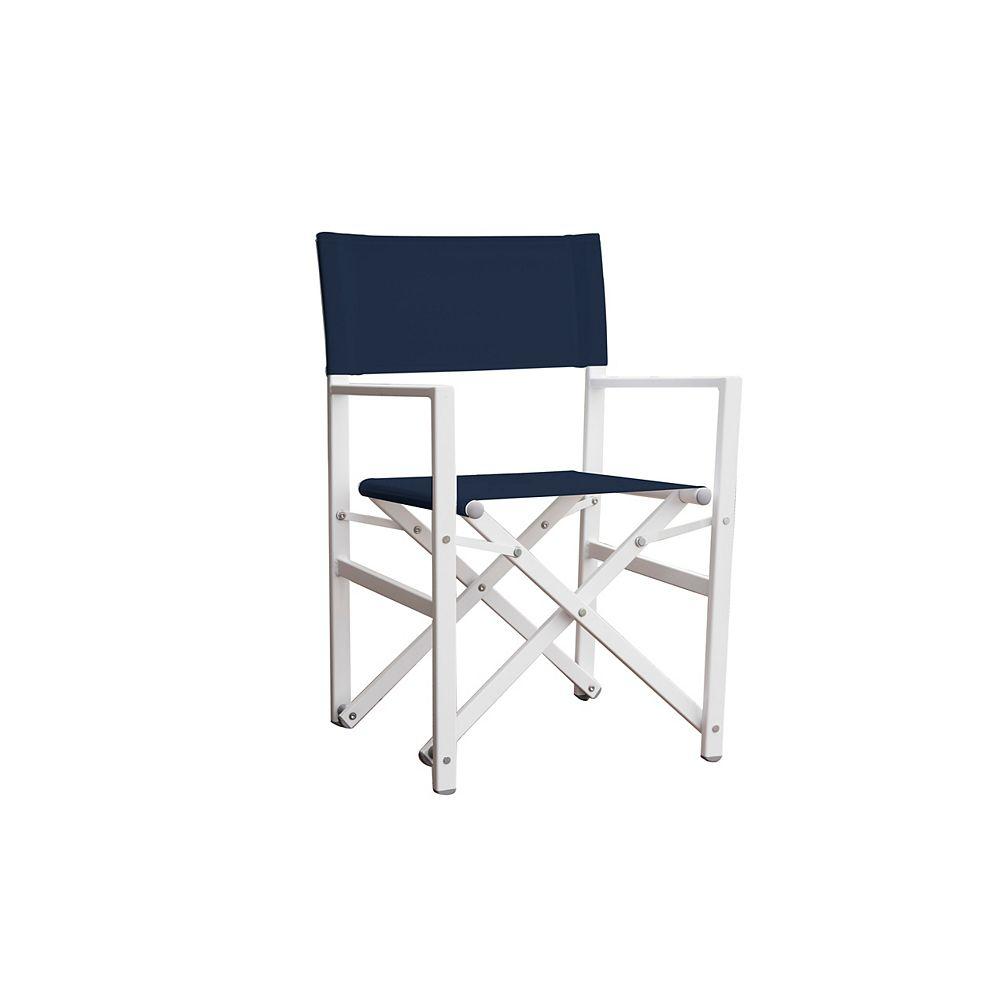 Vivere Chairdedirecteurse plianten aluminium-acierdestudiodemarine