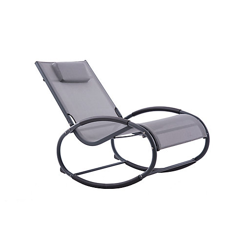 Wave Rocker - Aluminum - (Grey on Matte Black)