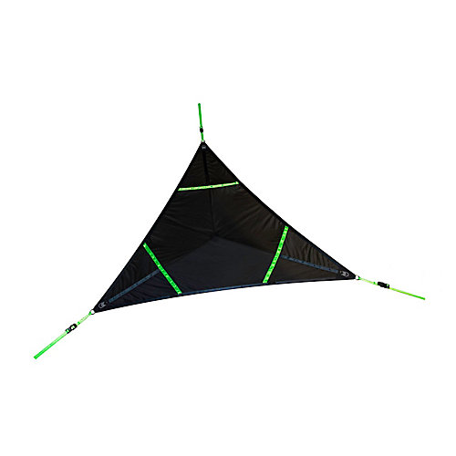 Aerial Mat (Black with Neon Green straps)