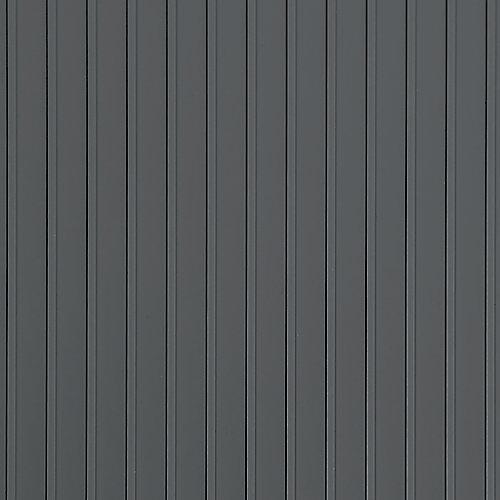 Rib 5 ft. x 10 ft. Slate Grey Vinyl Garage Flooring Cover and Protector