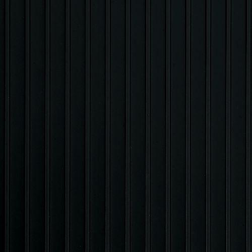 G-Floor Rib 5 ft. x 10 ft. Midnight Black Vinyl Garage Flooring Cover and Protector