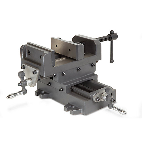 Étau pour établi de force industrielle équipées de coulisses croisées WEN 5-1/8 po (13 cm)