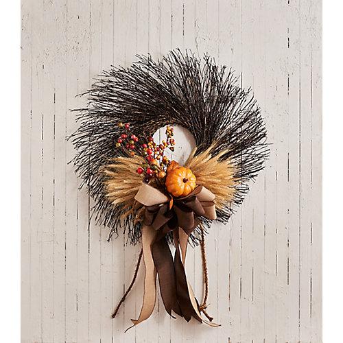 Harvest Twig Wreath
