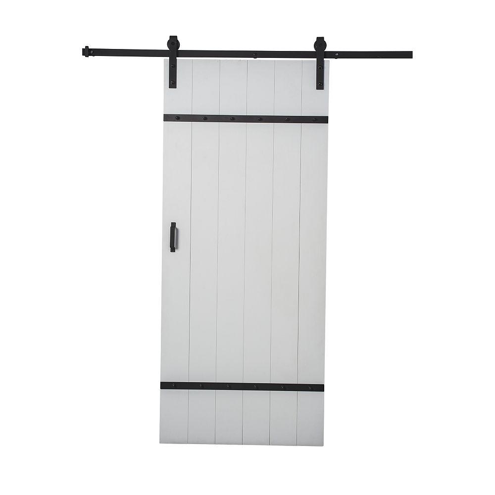 Renin 36-inch x 84-inch x 1 1/8-inch Easy Barn Door Kit