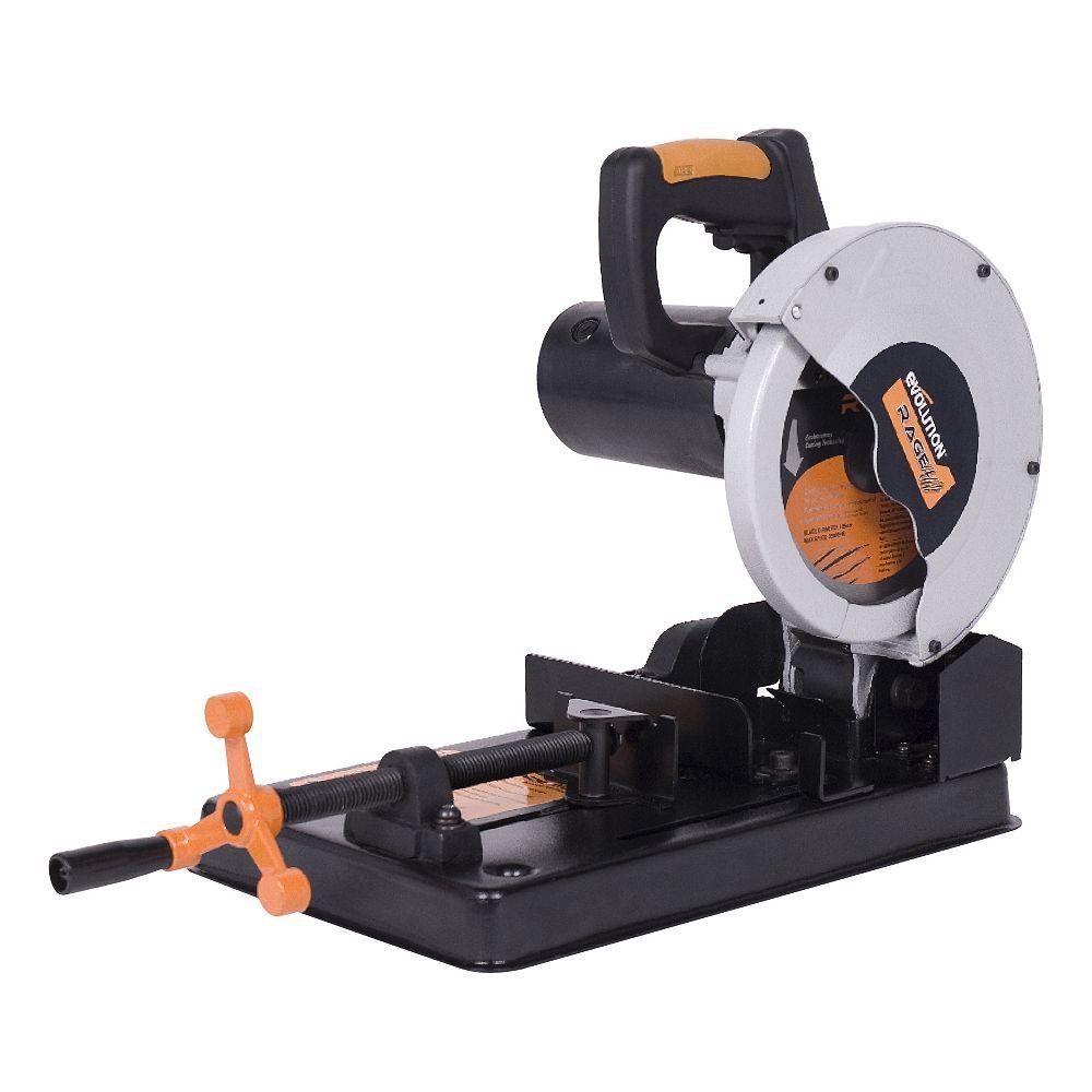 Evolution Power Tools Scie à découper multi-matériaux  7-1/4 pouces TCT