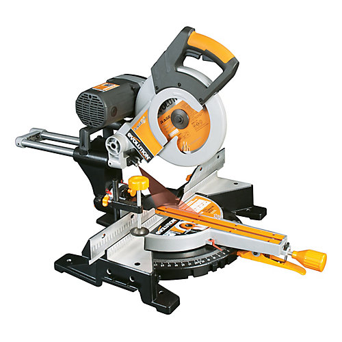 10-Inch TCT Multi-Material Cutting Double Bevel Compound Sliding Miter Saw