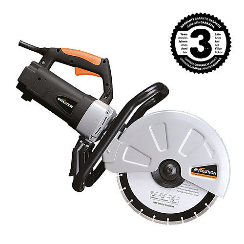 Evolution 12-inch Disc Cutter with Diamond Blade