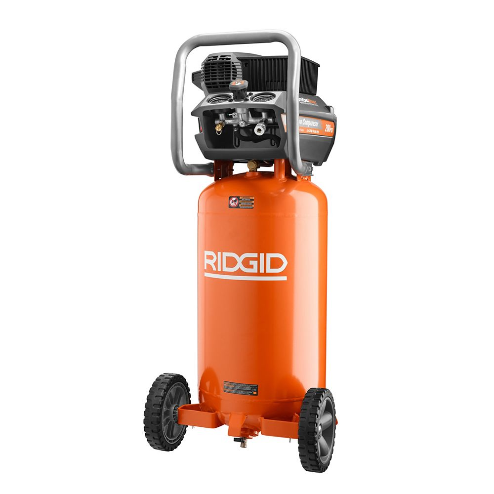 RIDGID 200 psi 15 Gal. Portable Electic Air Compressor