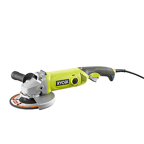 7-Inch 10 Amp Corded Angle Grinder