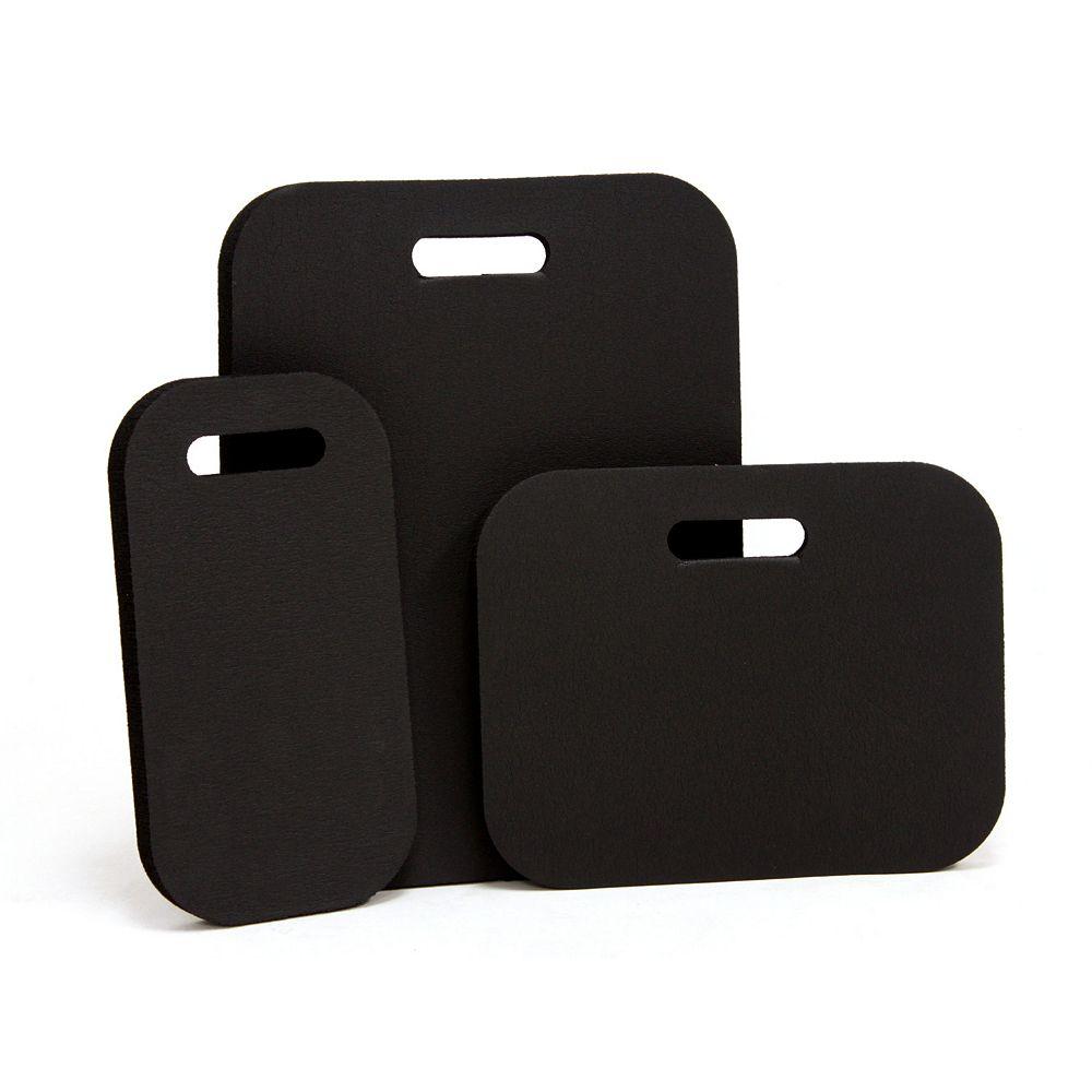 Earth Edge Ensemble de coussins pour genoux, formats de 15 po x 20 po, 12 po x 15 po, 8 po x 15 po, mousse, ens. de 3