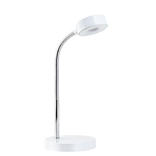 Matte White LED Desk Lamp - ENERGY STAR®