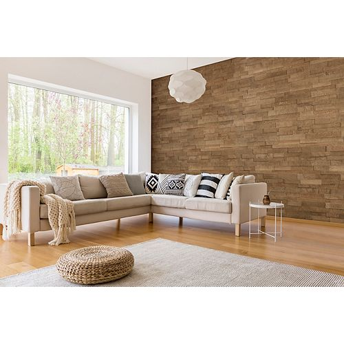 Toronto Birch 14-inch x 44-inch Engineered Wall Panel (17.1 sq. ft./case)