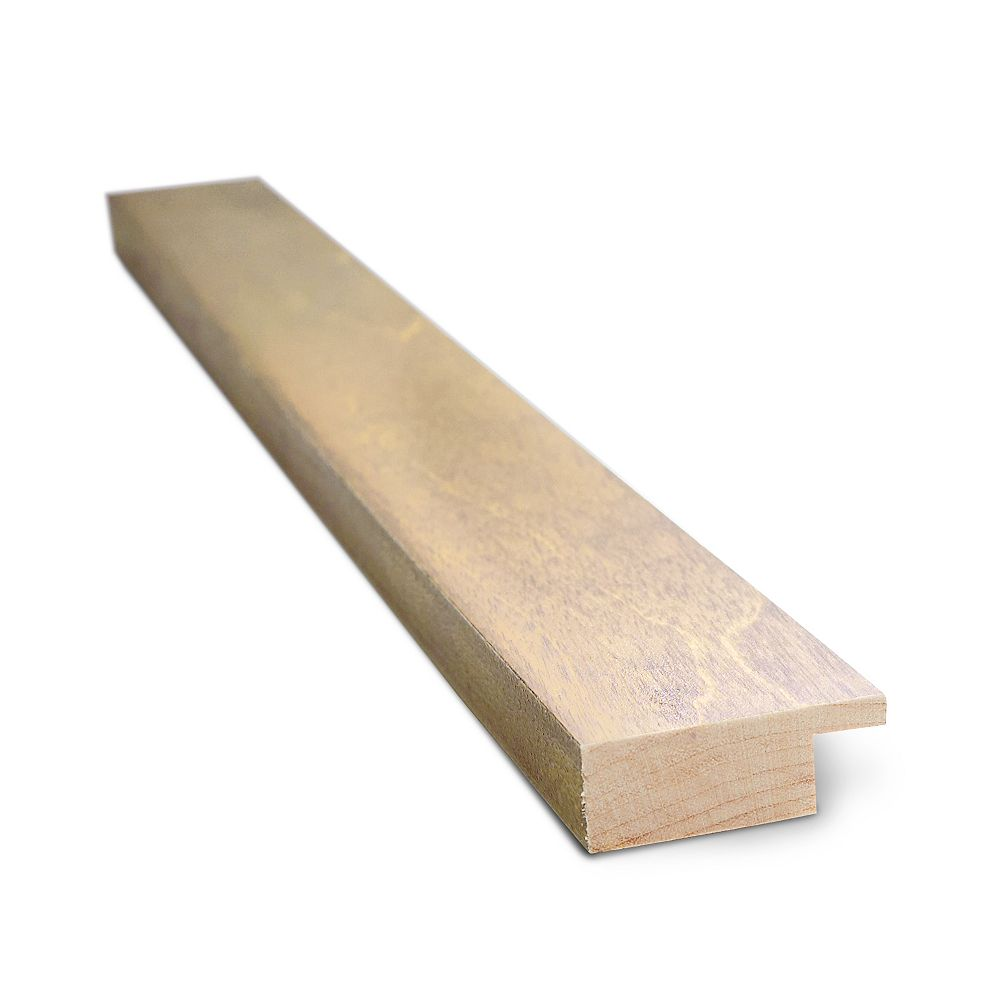 Expression Moulure de contour Montréal, bois de merisier, 14 mm x 1 1/2 po x 45 po, 2/paq.