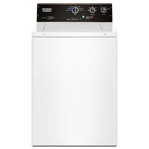 4.0 cu. ft. Top Load Commercial Washer in White
