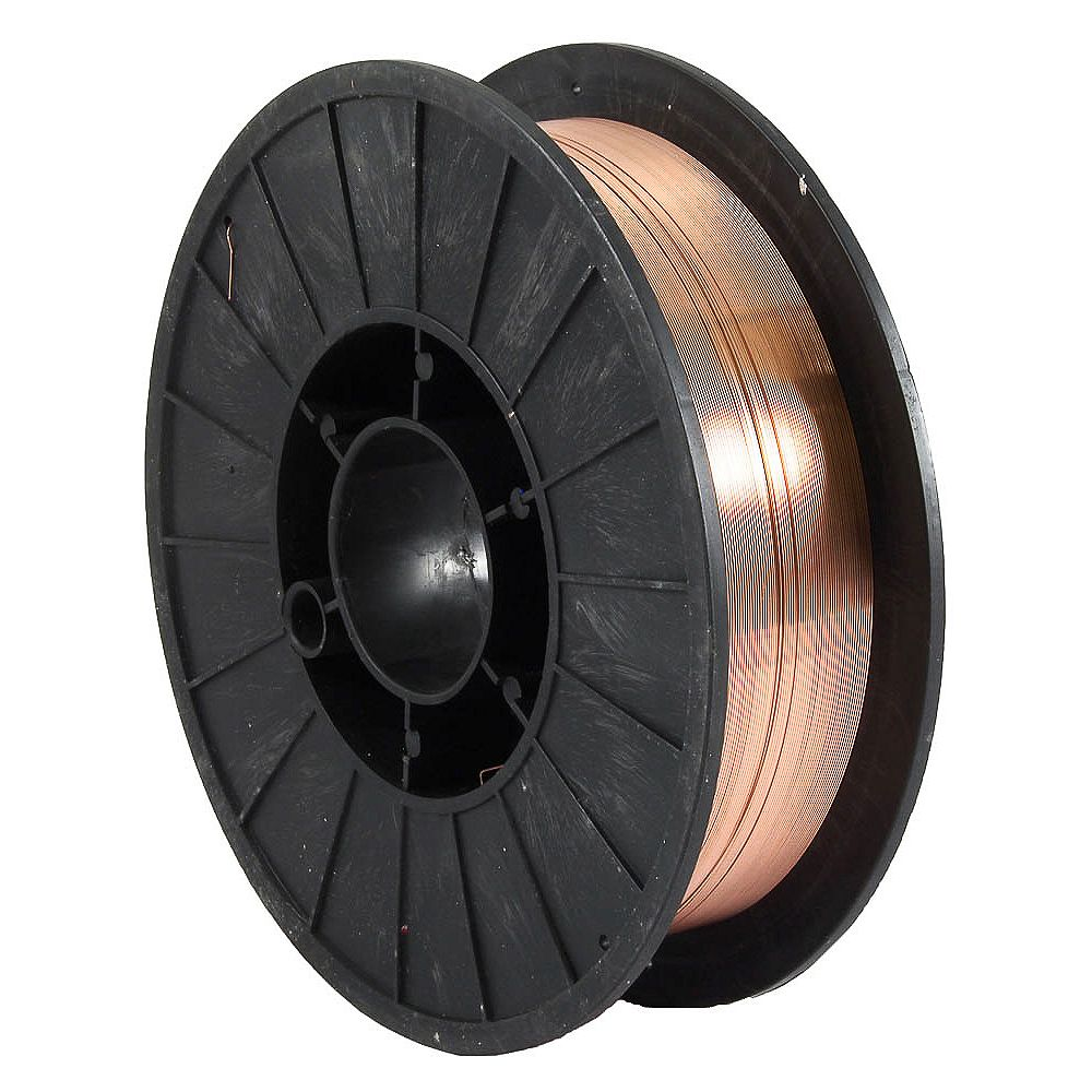 Forney Industries ER70S-6, .024 po x 10 lbs., acier MIG (gaz inerte métallique)
