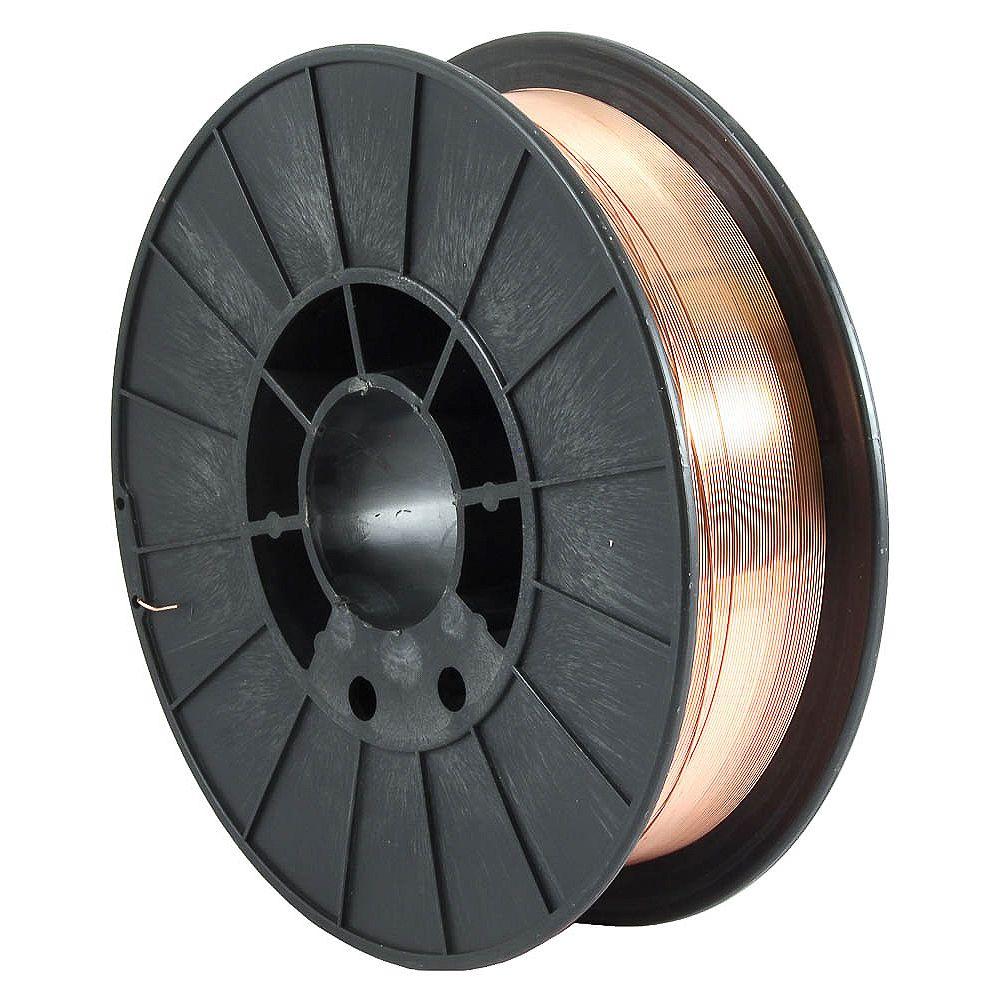 Forney Industries ER70S-6, .030 po x 10 lbs., acier MIG (gaz inerte métallique)